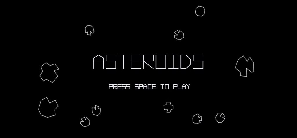 Asteroids art
