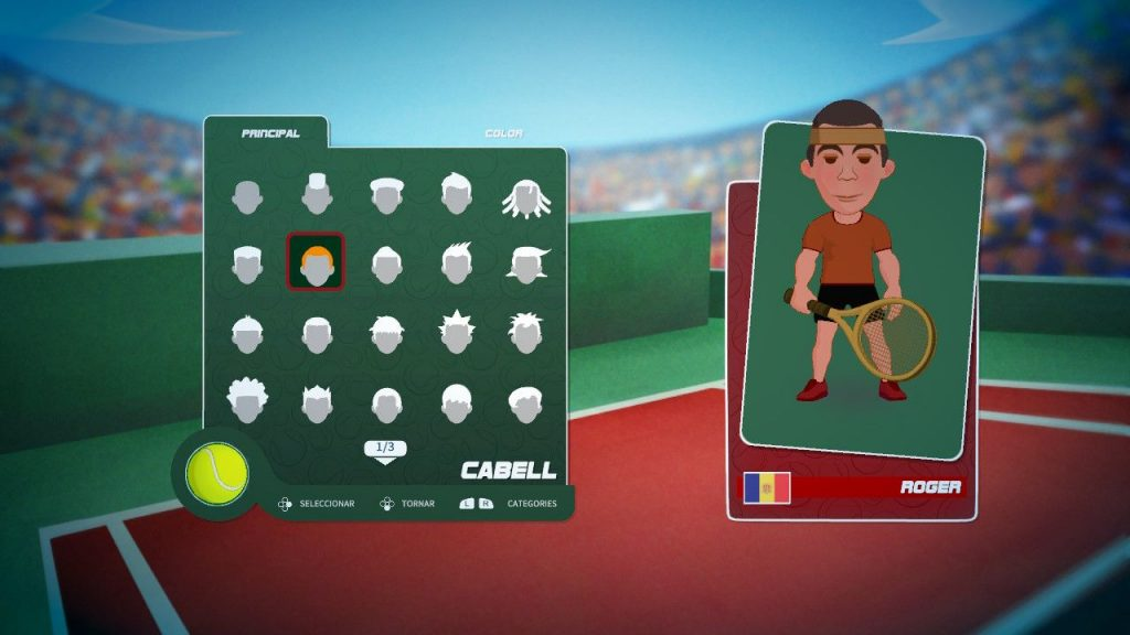 Super Tennis Blast en català