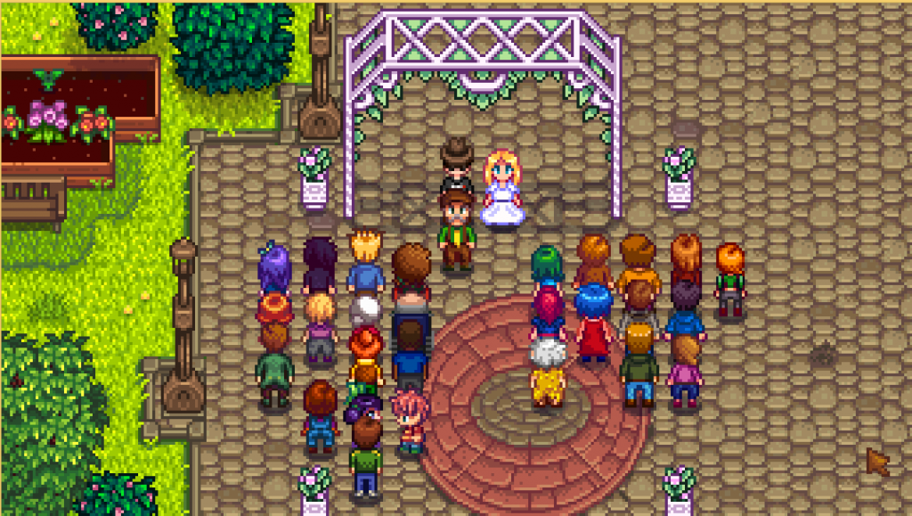 Matrimoni a Stardew Valley