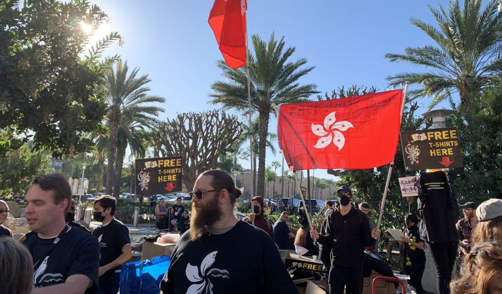 BlizzCon 2019 protest Hong Kong