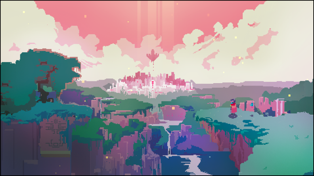 pixel art hyper light drifter