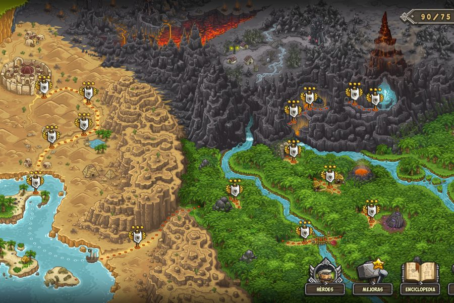 defensa de torres kingdom rush