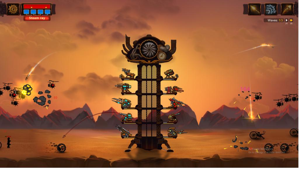 defensa de torres