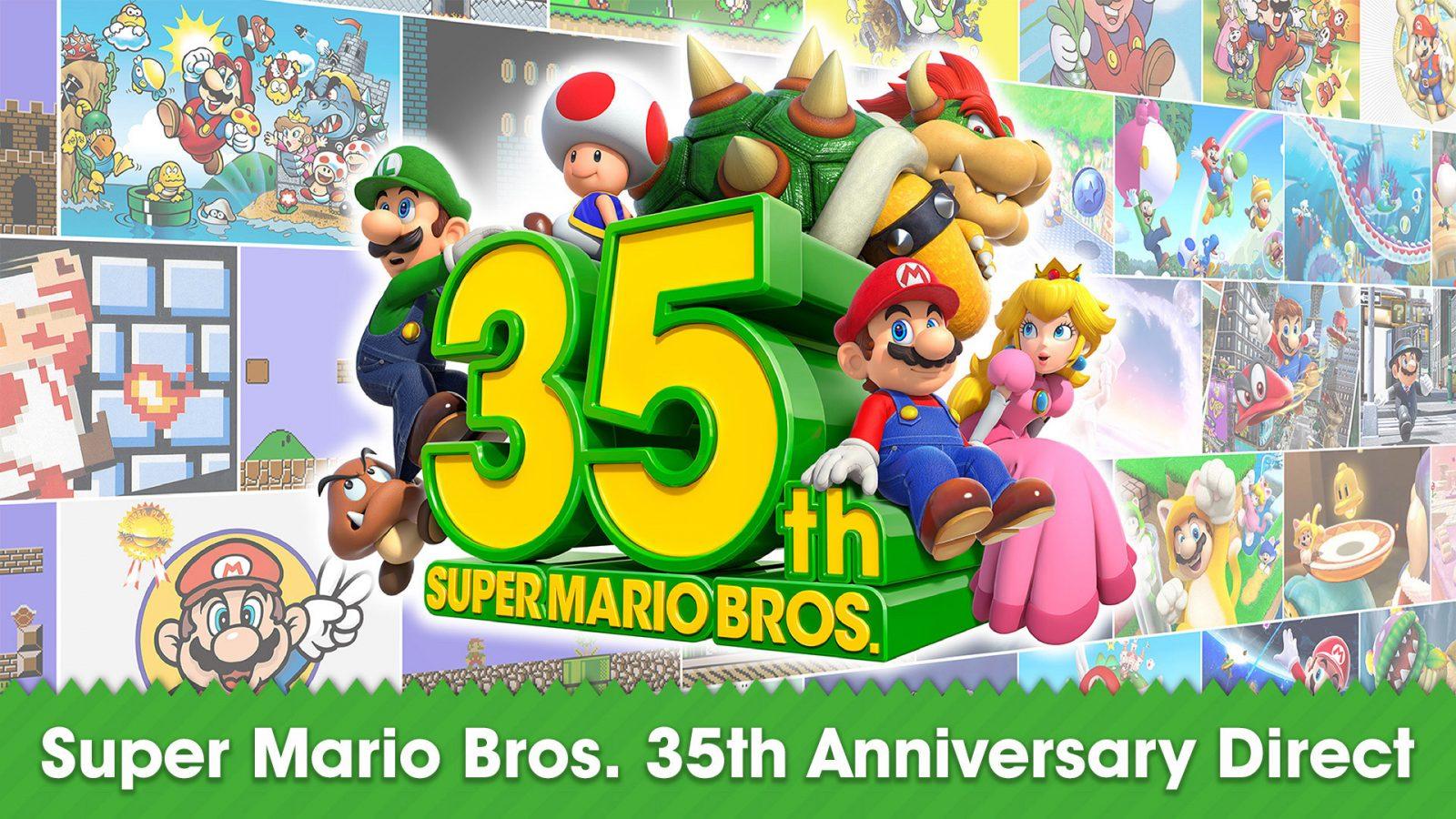 super mario 35th anniversary direct