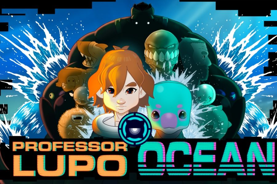 professor lupo; ocean videojoc beautifun