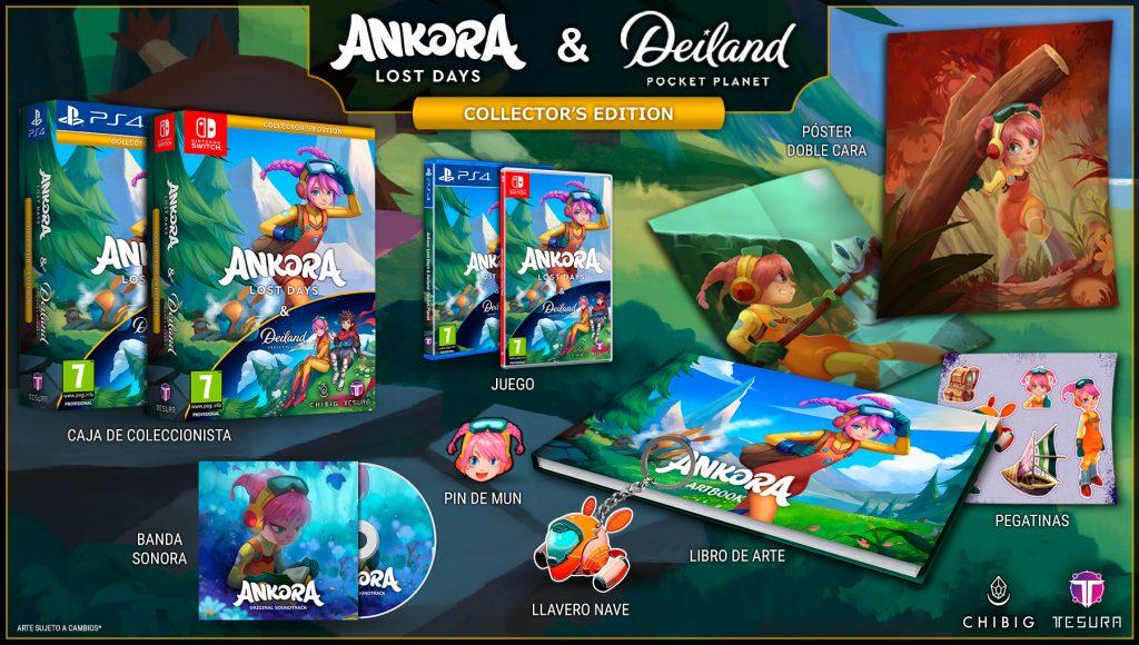 ankora lost days chibig videojocs català valencià kickstarter collector